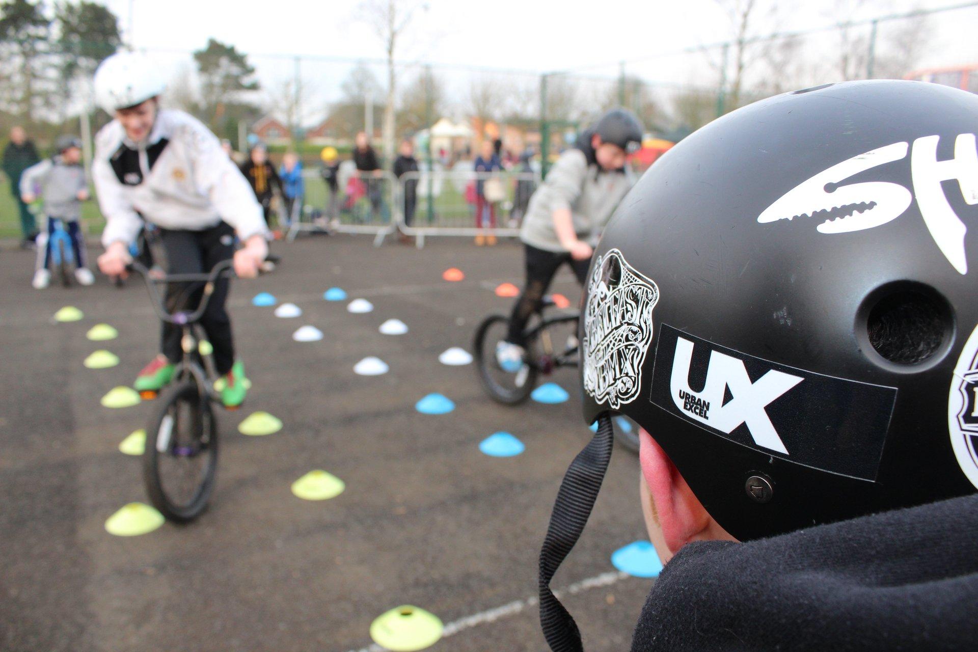 cycle training - BMX Coaching Belfast