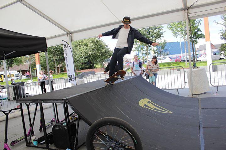 Mobile Skatepark ramps belfast