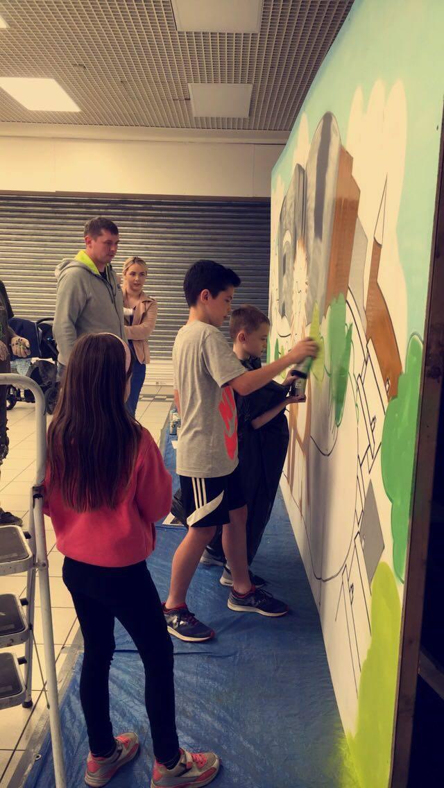Garffiti Art workshop / Aerosol Art workshop Belfast