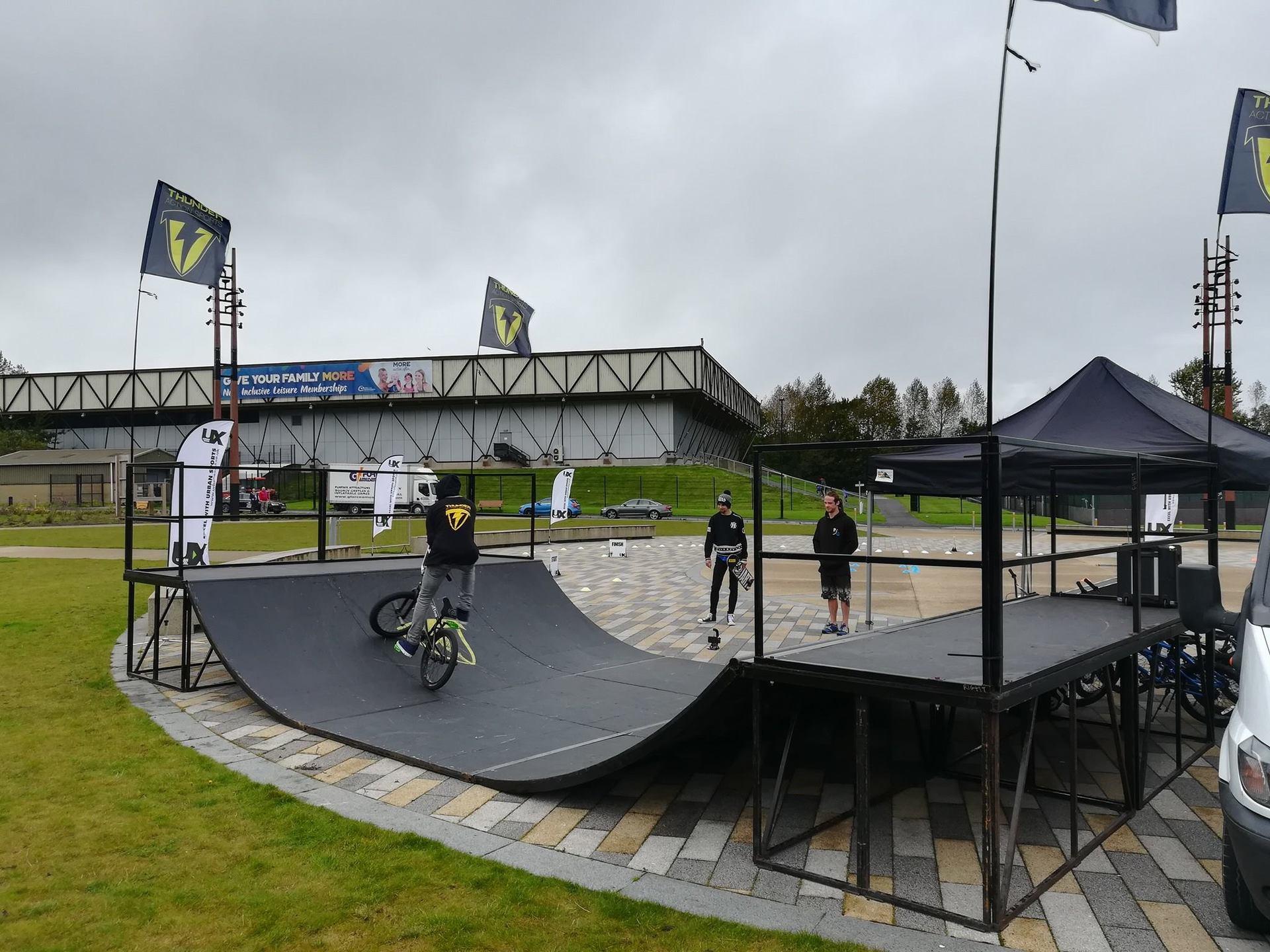 Mobile skatepark event - Skate ramps for hire
