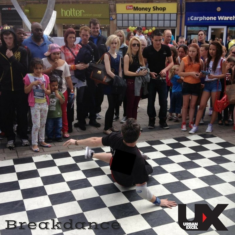 Breakdance workshop - Demo