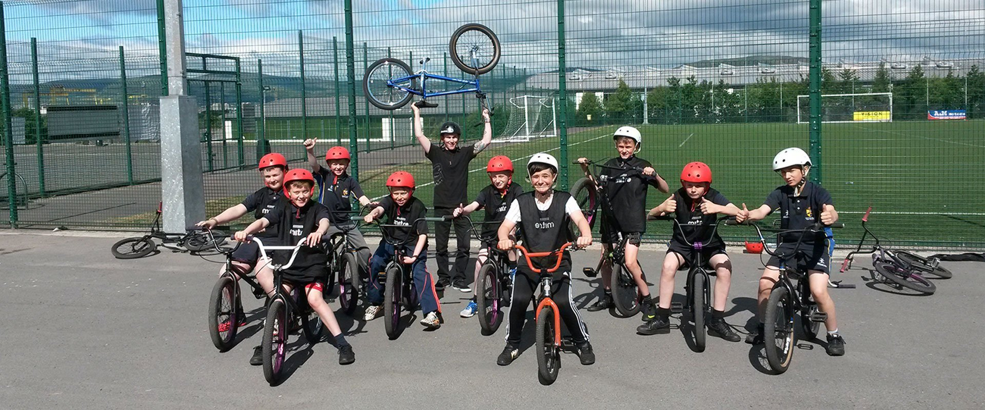 BMX coaching belfast