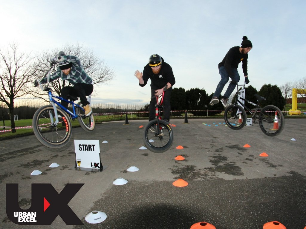 BMX coaching Demo Belfast