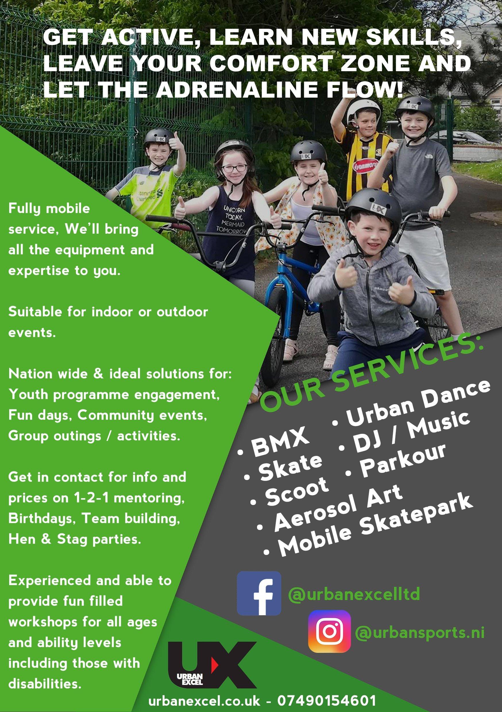 Urban Sports activities belfast