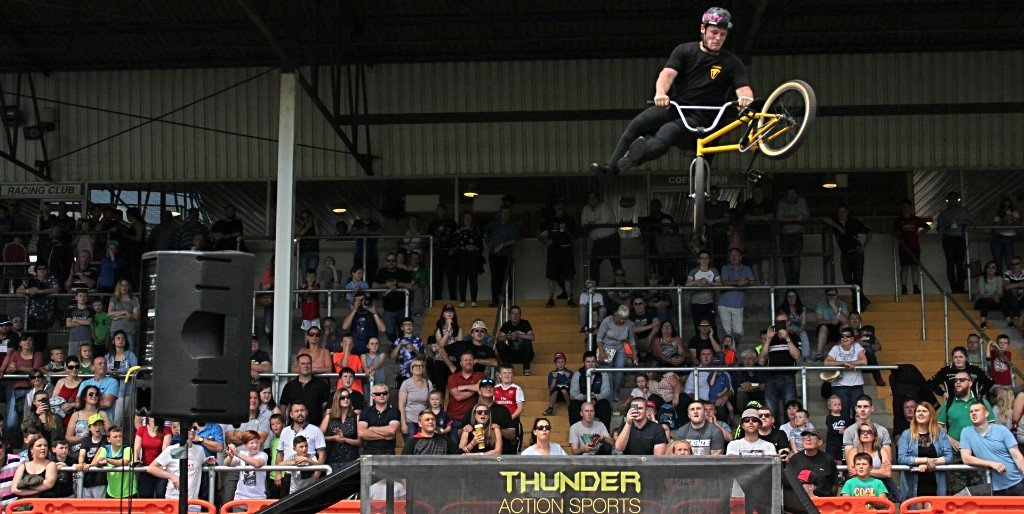 Thunder Action Sports BMX Stunt Show