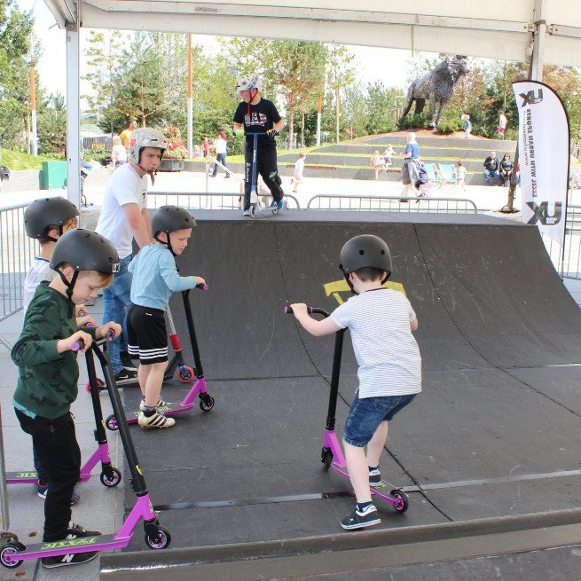 Scooter coaching workshop - cs lewis square Belfast