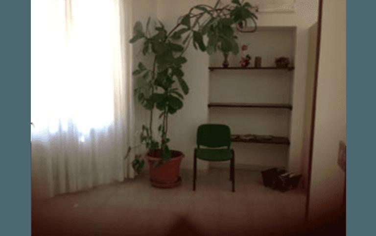 Sala d'attesa dello studio podologico