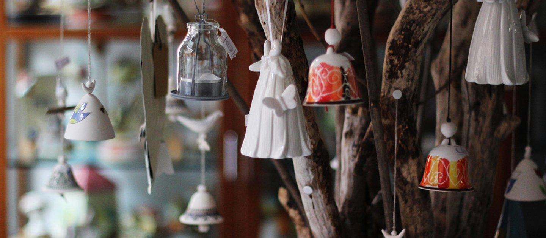 campanelli di ceramica