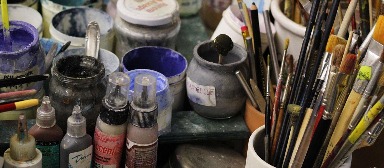attrezzi per dipingere