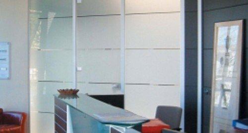 vetrate di un ufficio