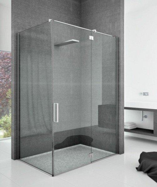 box doccia largo con vetrate resistenti