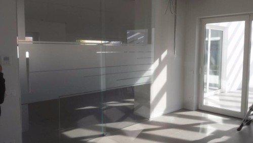 porte in vetro isolante