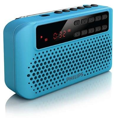 Radio Portatile Aem120blu