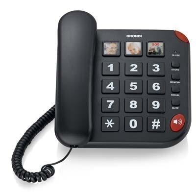 Telefoni di rete fissa Brondi