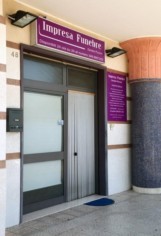 ingresso onoranze funebri