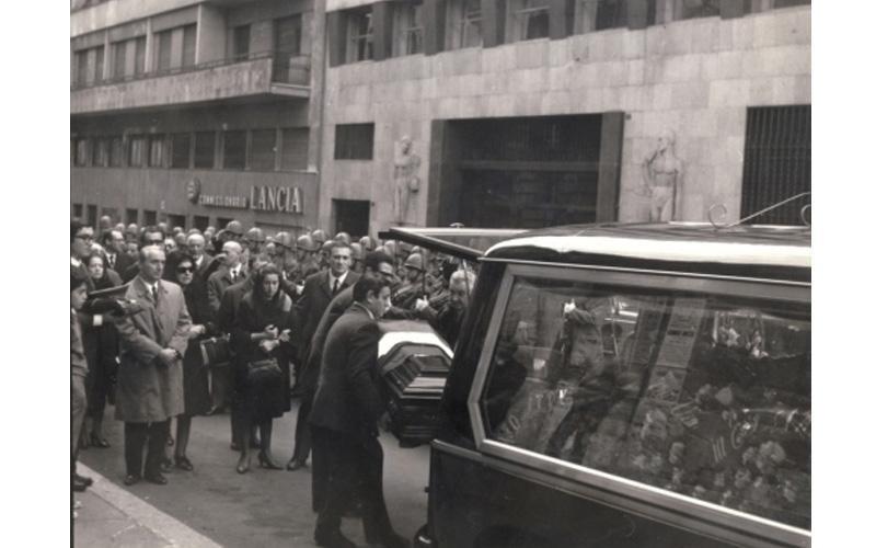 funerale storico Roma
