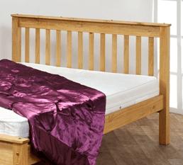 Cheddar Pine Bed Frame