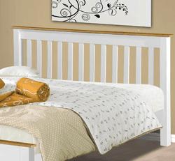 White Dover Pine Bed Frame