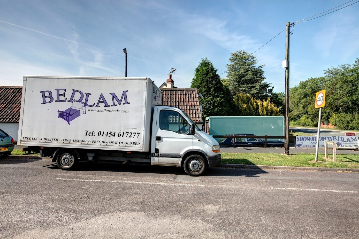Bedlam Beds Bristol new van