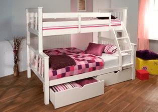 Lisbon High Sleeper Bed Bristol