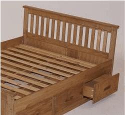 Mission Pine Bed Frame