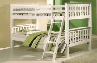 Olveston White Bunk Bed