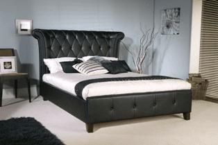 Rhodes Leather Bed Frame