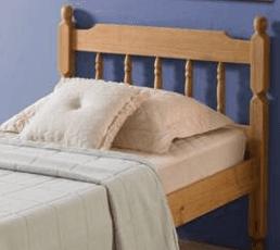 Spindle Pine Bed Frame