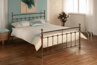 Taunton (brass) Metal Bed Frame