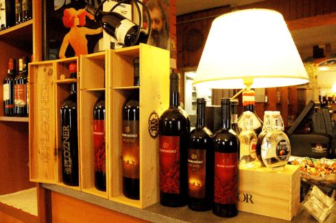 vini della zona
