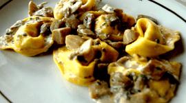 Ravioli ai funghi