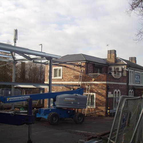 Construction site of a new dental surgery