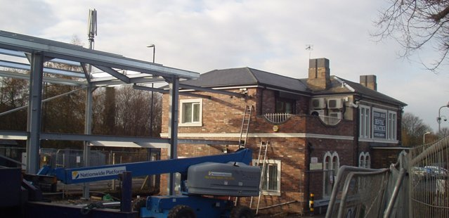 Constructing a new building in Shropshire