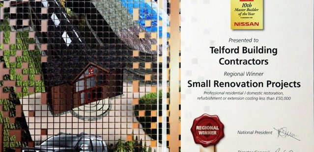 The winner of the Small Renovatio Projects award