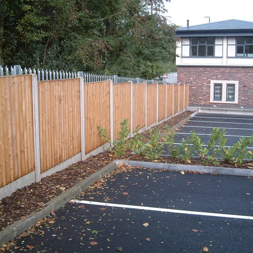 New parking spaces for a dental surgery