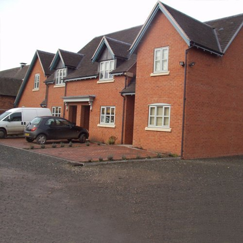 A selection of new build houses