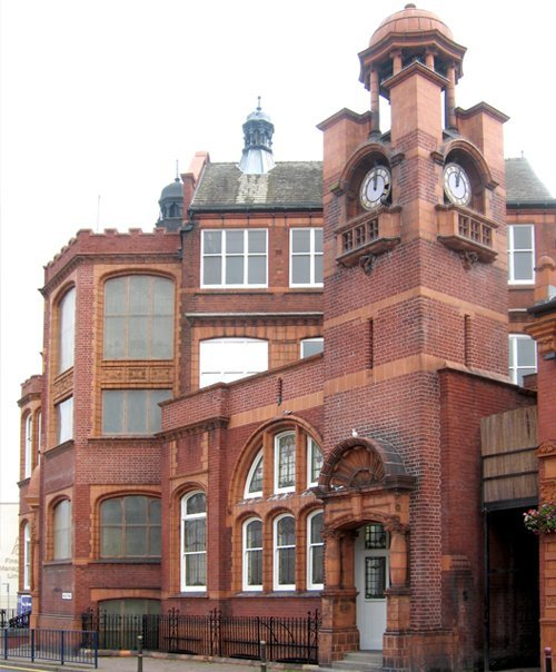 The outside of the Old Stourbridge library