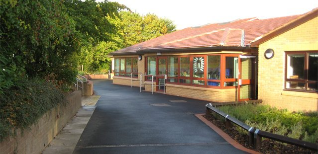 A new school building in Shropshire