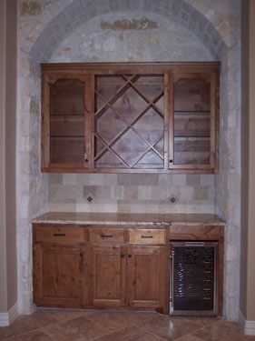 custom made cabinets from floor to ceiling custom made by JB Murphy co