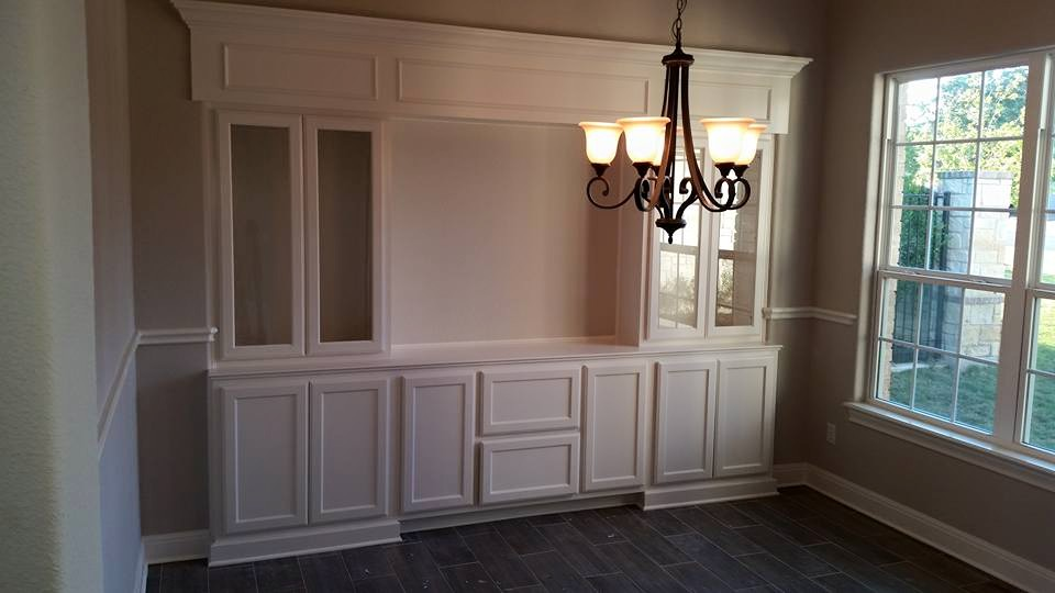 Custom Built In Buffet For Dining Room By JB Murphy Co