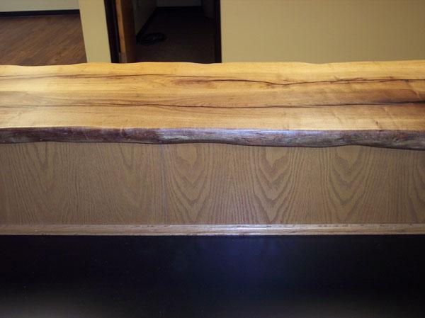 custom fireplace mantel by JB Murphy co