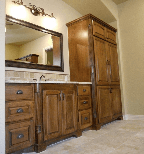 Bathroom Gallery - JB Murphy Co. | Custom Bathroom Cabinetry ...