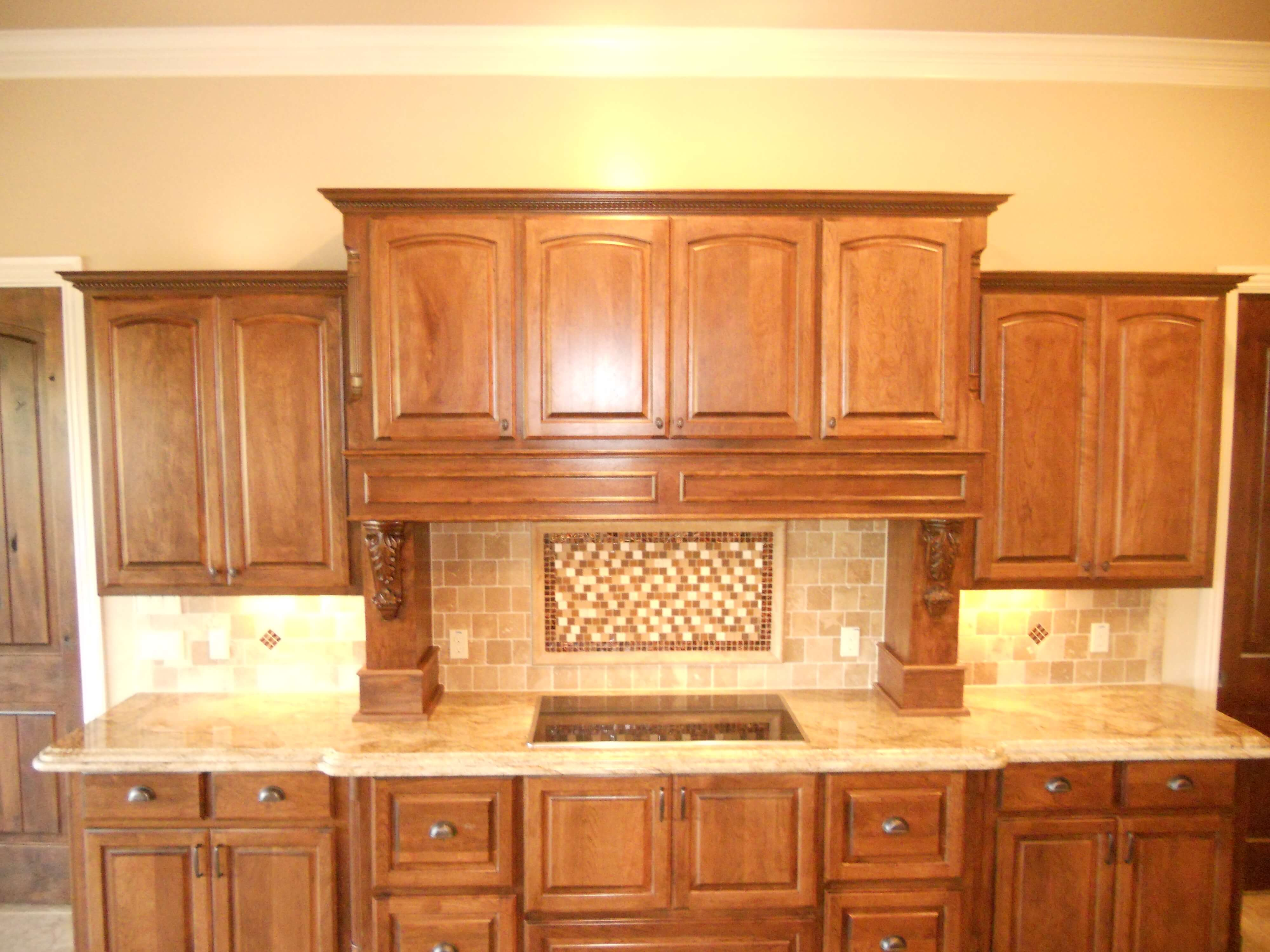 custom island kitchen built by JB Murphy Co