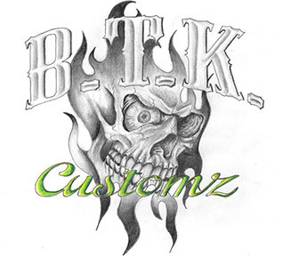BTK Customz logo