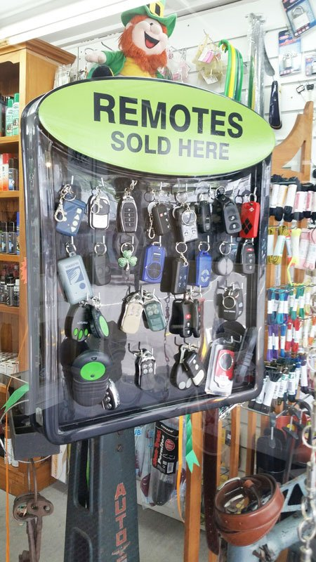 Remote keys