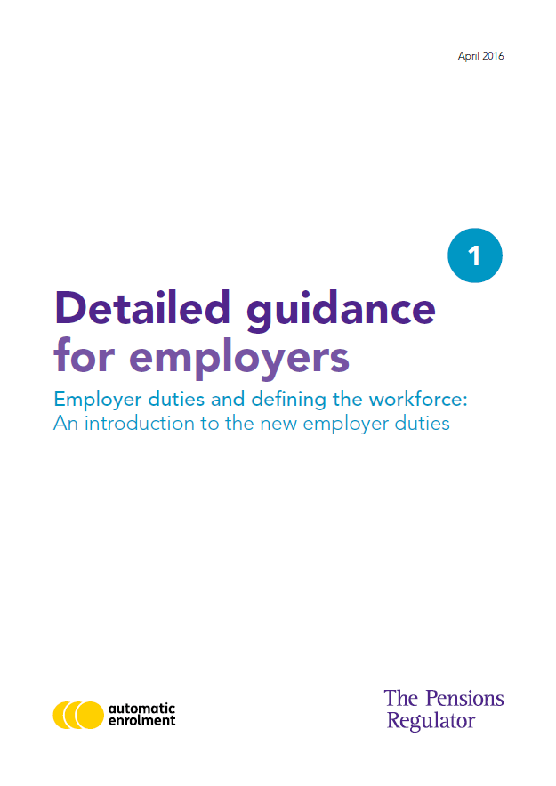 Detailed Auto Enrolment Guidance for Employers