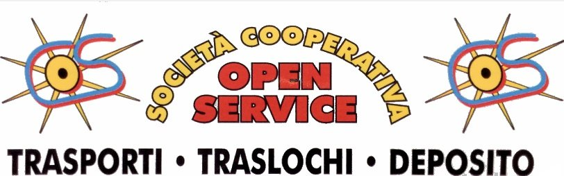 LOGO Open Sservice - Trasporti, traslochi e deposito