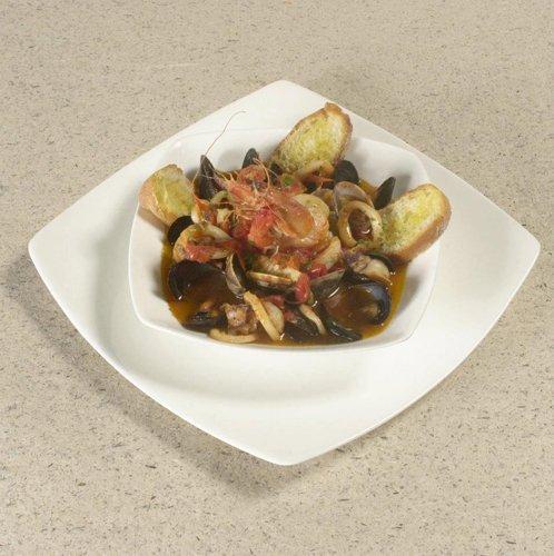 piatto di cozze con bruschette