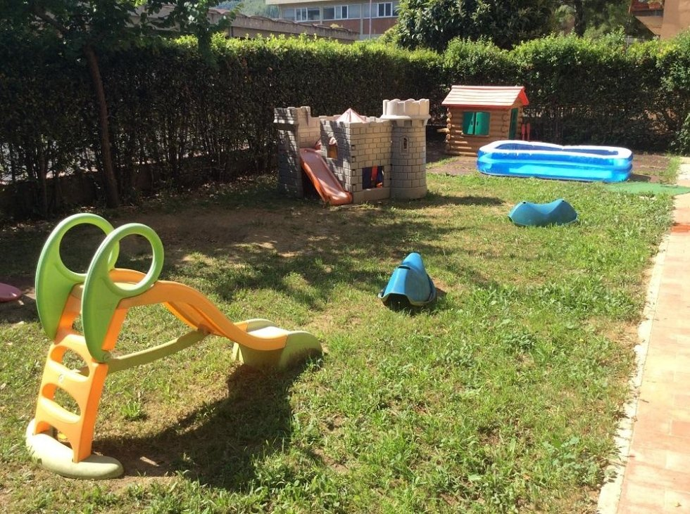 area giochi asilo nido pontassieve
