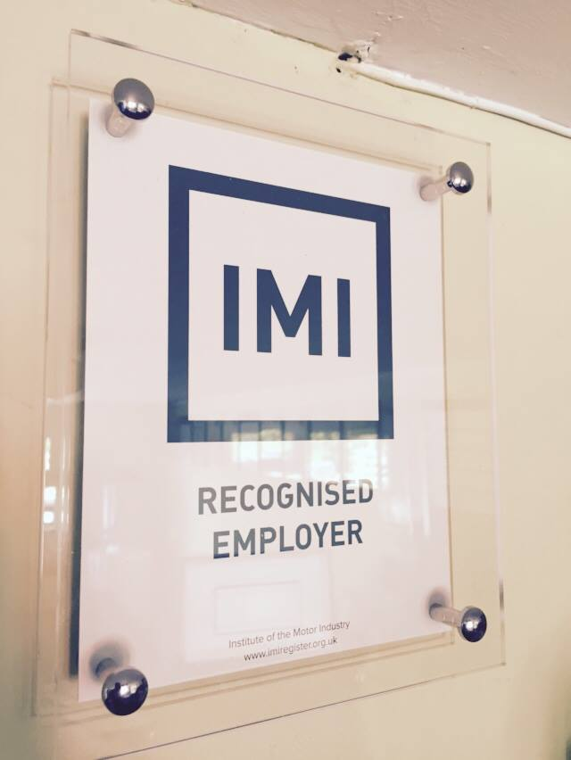 IMI RECOGNISED EMPLOYER